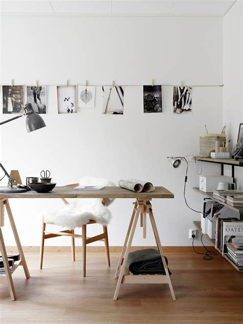 bureau d architecte ikea escritorios con caballetes decoración de espacios de