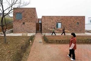 Chinese Brick House: Gaochun Building by AZL - e-architect