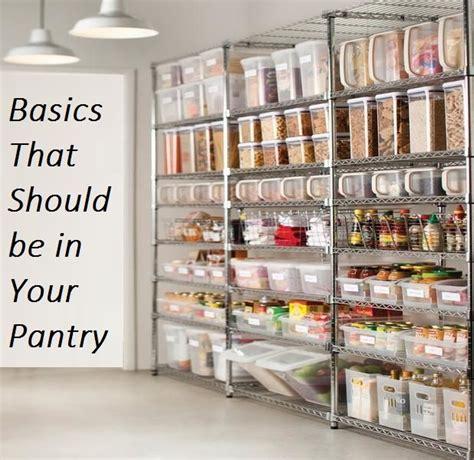 basics      pantry kitchen storage