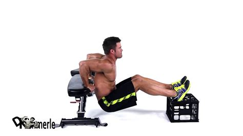 Bench Dips Workout by Bench Dips Triceps At Home Exercise