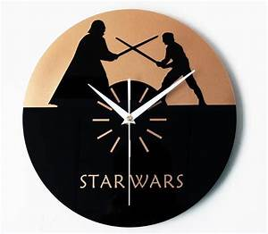 Star Wars Wanduhr : die 138 besten bilder zu cut clocks auf pinterest kreativ zeichentrick und kunst ~ Frokenaadalensverden.com Haus und Dekorationen