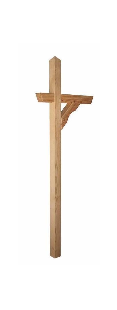 Treated Pressure Mailbox Wood Amish Pine Mail