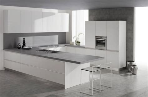 white and gray kitchen mica white metro source concept specialist Modern