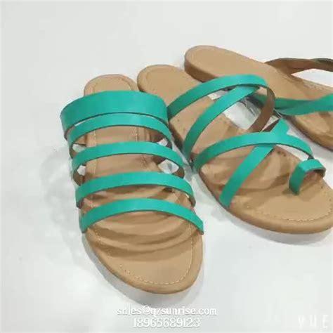 design ladies fashion fancy flat sandals buy