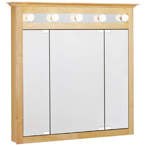 surface mount medicine cabinet lowes shop estate by rsi lighted surface mount medicine cabinet