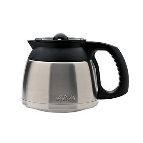 Coffee carafe replacement for mr. Mr. Coffee DRD95-RB 8-Cup Stainless Steel Double-Walled Thermal