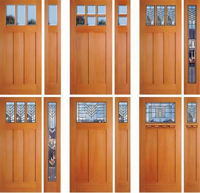 Fir Douglas Door Doors Exterior Wood Grain