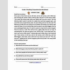 Reading Worksheets  Third Grade Reading Worksheets