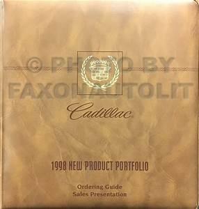 1998 Cadillac Catera Repair Shop Manual Original 3 Volume Set