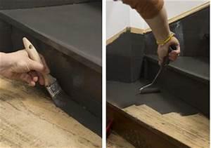 peindre un escalier en bois avec la peinture renovation With peindre un escalier en gris 12 renover un meuble en bois comment restaurer meuble en
