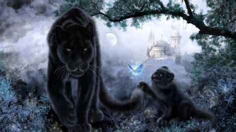 Black Jaguar Animal Hd Wallpapers 1080p - 3d black jaguar wallpapers wallpaper cave