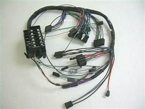 1964 Chevy Impala Under Dash Wiring Harness With Column