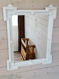 Miroir Ancien Pas Cher : comment rajeunir en quelques tapes un vieux miroir deco meuble mirror diy furniture et ~ Melissatoandfro.com Idées de Décoration