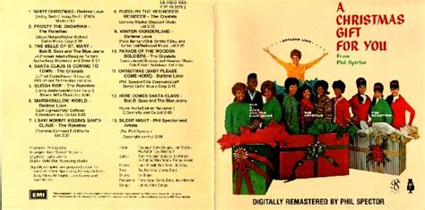 Phil Spector. A Christmas Gift For You. Cdp 79 3675 2