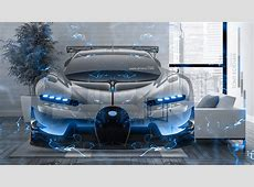 Bugatti Vision Gran Turismo Super Energy Fly Home Crystal