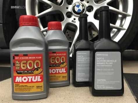 change  brake fluid   bmw