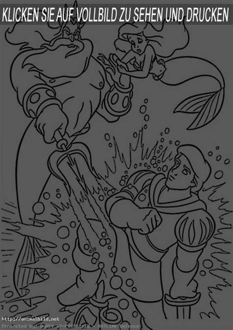 meerjungfrau  ausmalbild