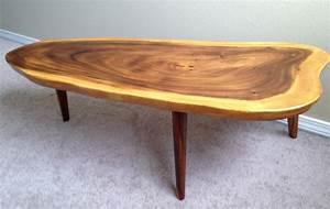 coffee tables ideas woth metal slab wood coffee table With wood slab coffee table legs