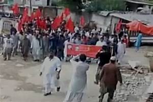 Massive protest rally demanding freedom from Pakistan held ...