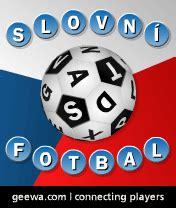 Slovní Fotbal  Logická Online Hra Zdarma