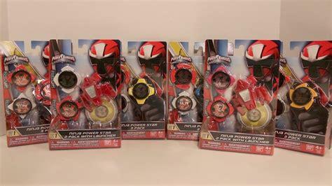 Ninja Steel Power Star Packs Wave 1 Review [power Rangers