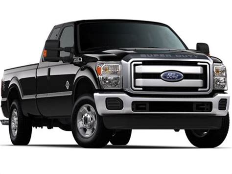 2012 Ford F250 Super Duty Super Cab XLT Pickup 4D 6 3/4 ft