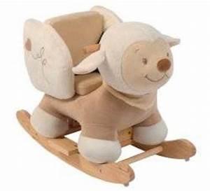 Mouton à Bascule : nattou bascule mouton noa doudouplanet ~ Teatrodelosmanantiales.com Idées de Décoration