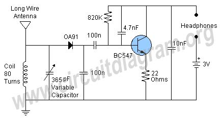 Simple Receiver Circuit Diagram Projects Try