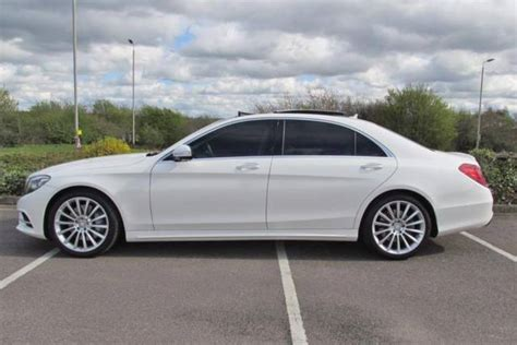 2014 Mercedes-benz S350 L Amg Line Bluetec A White Maybach