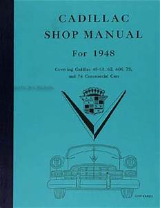1948 Cadillac Wiring Diagram : 1948 cadillac repair shop manual original for all models ~ A.2002-acura-tl-radio.info Haus und Dekorationen