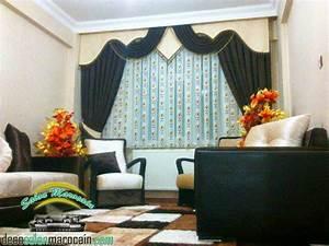 Rideaux Originaux Pour Salon : rideau salon marocain incroyable salon marocain moderne ~ Dode.kayakingforconservation.com Idées de Décoration