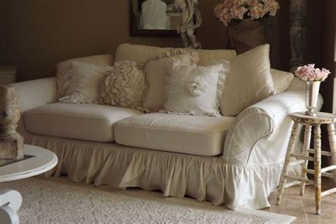 shabby chic slipcovers for loveseats 1000 ideas about shabby chic sofa on