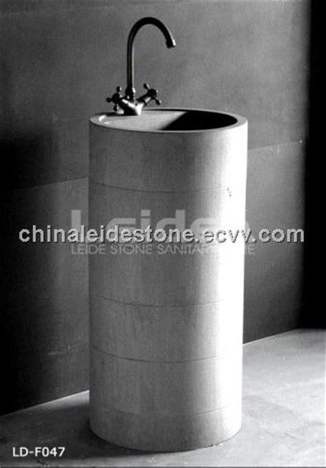 column floor standing wash basin  china manufacturer