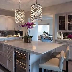34, Wonderful, Kitchen, Lighting, Ideas, To, Make, It, Look, More, Beautiful