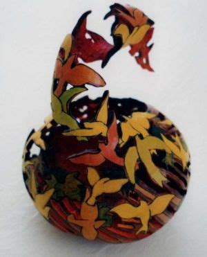gourd art  monsterfish gourd art gorgeous gourds