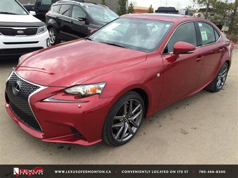 2015 red lexus is 250 new red 2015 lexus is 250 4dr sdn awd f sport series 2