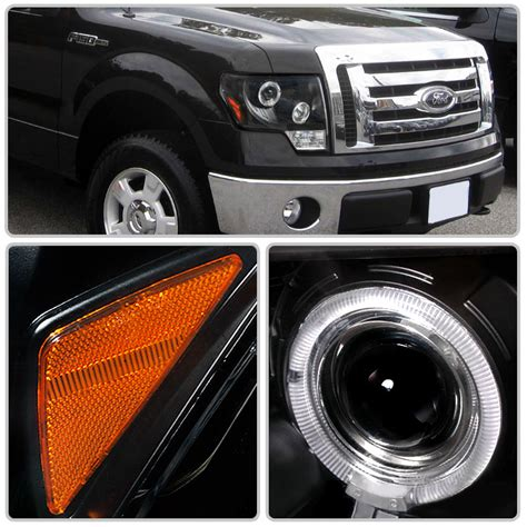 f150 halo lights hid xenon 09 13 ford f150 eye halo led projector