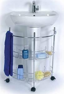 Regal Unter Waschbecken : badezimmer regal waschbecken unterschrank badregal handtuchhalter ablage m bel kaufen bei dtg ~ Sanjose-hotels-ca.com Haus und Dekorationen