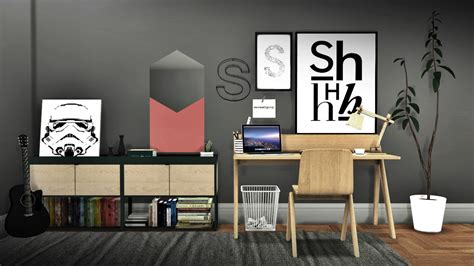 Sims 4 Ccs The Best Office By Mxims