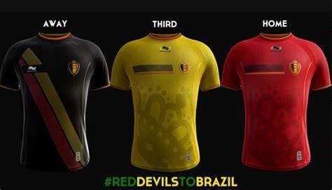 nouveau maillot pour les diables rouges les humeurs