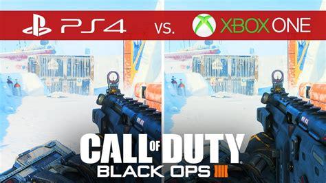 call  duty black ops  comparison xbox   xbox