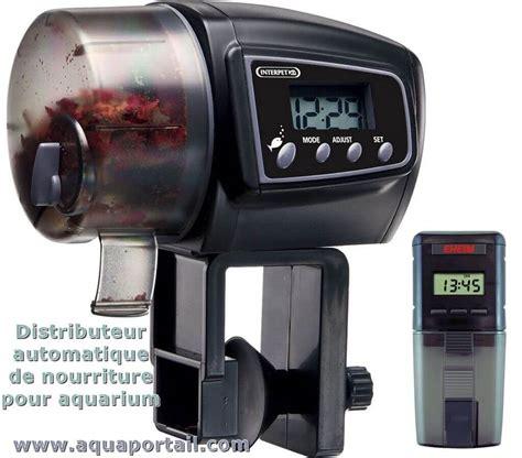 utilisez vous des distributeurs automatiques de nourriture pour aquarium equipement mat 233 riel
