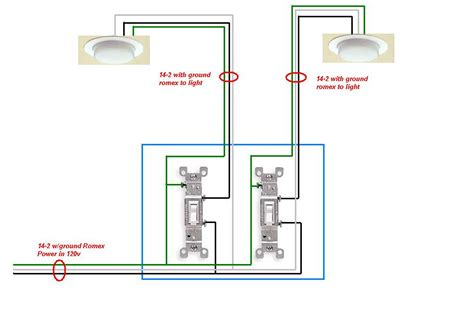 find wiring diagram   lights controlled   switches