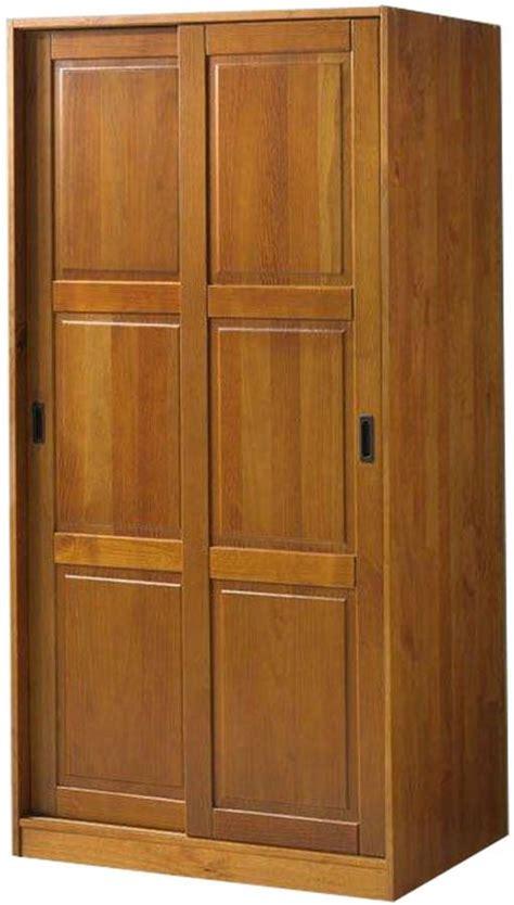palace imports honey pine  sliding door wardrobe