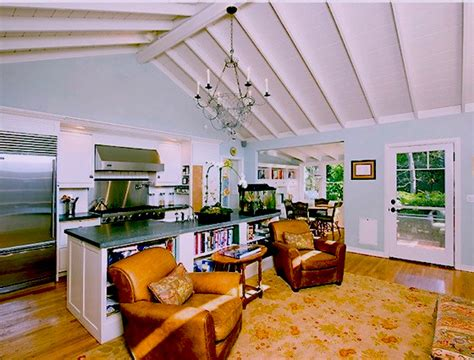 Great Room In Small Cottage House  Los Angeles  By Susan