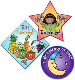 Healthy Child Clip Art