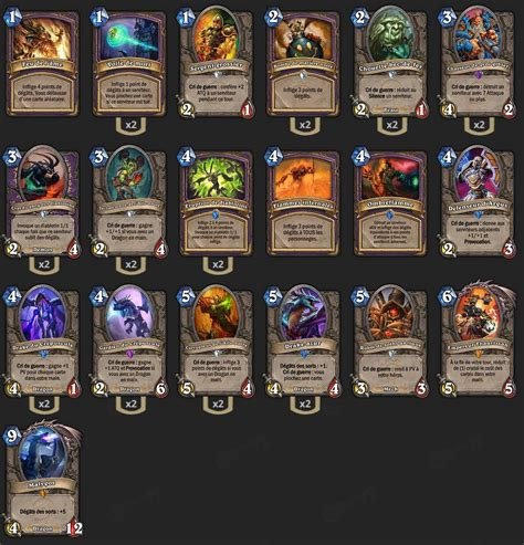 warrior decks hearthstone tgt deck d 233 moniste dragonlock tgt savjz hearthstone heroes