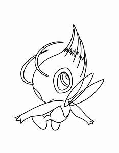 Pokemon Coloring Meloetta Coloring Pages