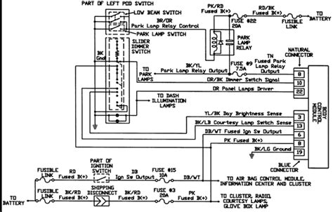 1998 Caravan Wiring Schematic by Trying To Find A Fuse Electrical Diagram For A 1993 Dodge