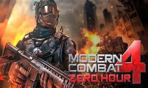 free modern combat 4 apk modern combat 4 zero hour apk data android free